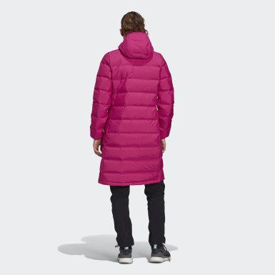 Dames Urban Outdoor Roze Helionic Donsparka