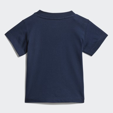 Kids Originals Blue Trefoil T-Shirt