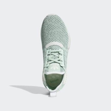 ผู้ชาย Originals สีเขียว รองเท้า NMD_R1