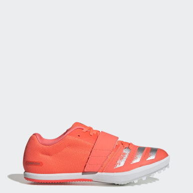 Men's Track & Field Orange Jumpstar Spikes