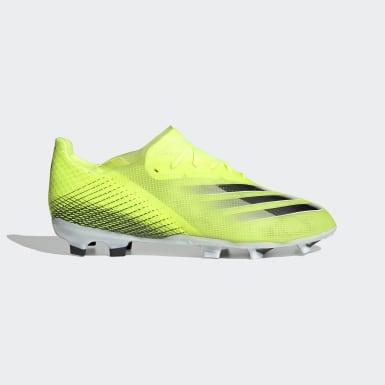 Botas de Futebol X Ghosted.1 – Piso firme Amarelo Rapazes Futebol