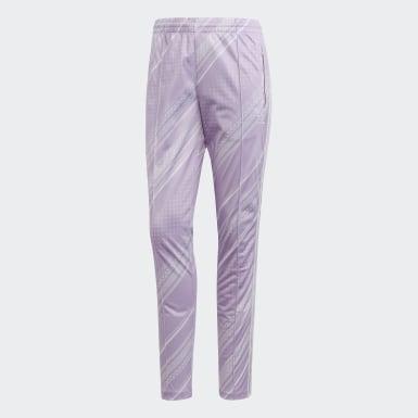 Women Originals Purple SST Track Pants