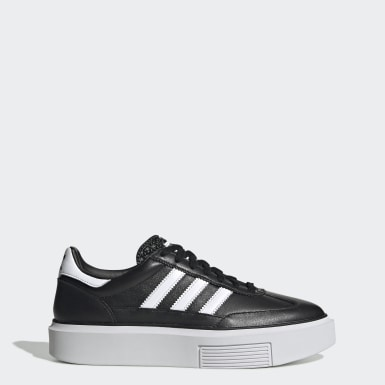 Dames Originals Zwart adidas Sleek Super 72 Schoenen