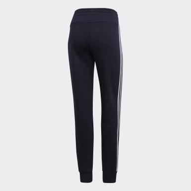 Calças 3 Riscas Essentials Azul Mulher Athletics