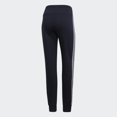 Frauen Athletics Essentials 3-Streifen Hose Blau