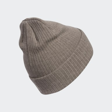 WM ORI RECYCLED RIB BEANIE marron Femmes Originals