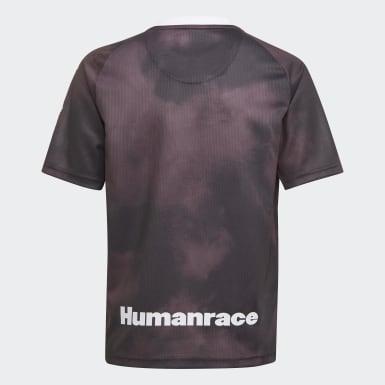 Camiseta Real Madrid Human Race Negro Niño Fútbol