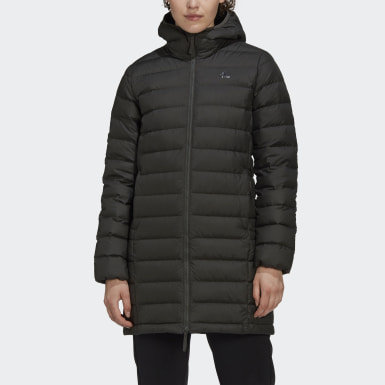 Dam City Outdoor Grön Todown Down Coat