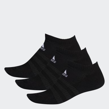 Hardlopen zwart Gevoerde Korte Sokken 3 Paar