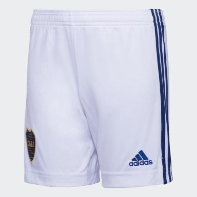 Shorts de Visitante Boca Juniors 20/21 Blanco Niño Fútbol