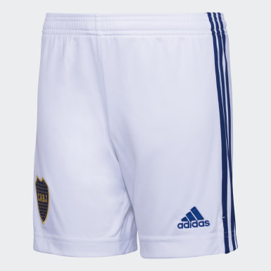 Shorts Uniforme de Visitante Boca Juniors Niño