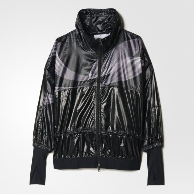 черный Куртка для бега Climastorm