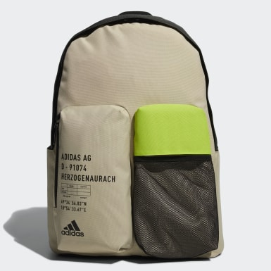 Training Beige Classic 3D Pockets Backpack