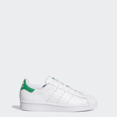 Youth Originals White Superstar Stan Smith Shoes