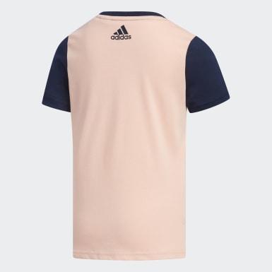 Camiseta Rosa Niña Yoga