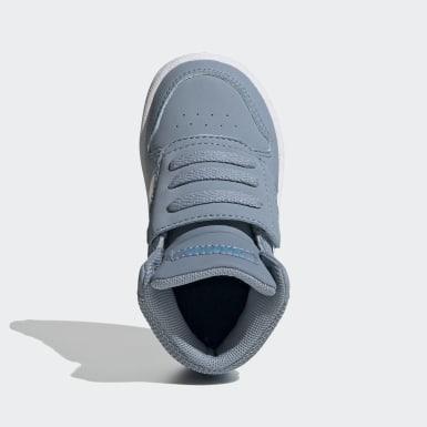 Børn Basketball Blå Hoops 2.0 Mid sko