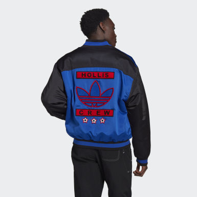 Men Originals Blue Run-DMC Collegiate Jacket