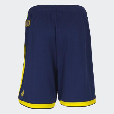 Youth Football Blue Regista 18 Shorts