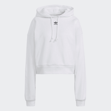 Frauen Originals Adicolor Essentials Hoodie Weiß
