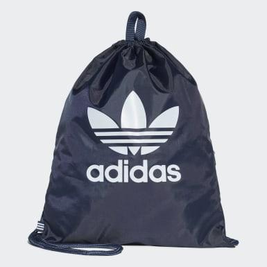 Sacca Trefoil Gym Blu Originals
