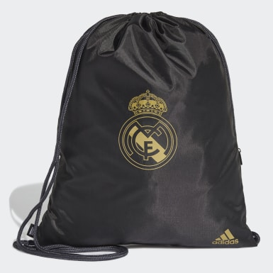 Football Black Real Madrid Gym Bag