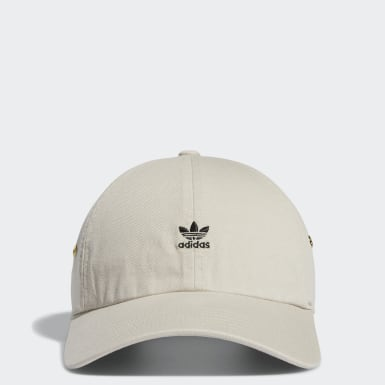 Women's Originals Beige Relaxed Mini Logo Hat