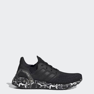 Women Running Black Ultraboost 20 Glam Pack Shoes