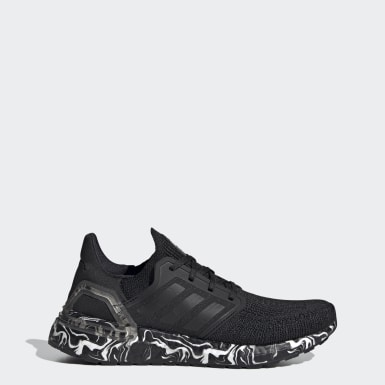 Women Running Black Ultraboost 20 Glam Pack Shoes