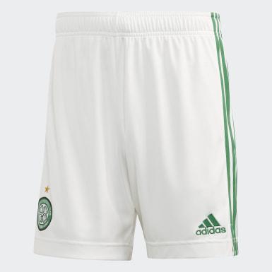 Mænd Fodbold Hvid Celtic FC 20/21 hjemmebaneshorts