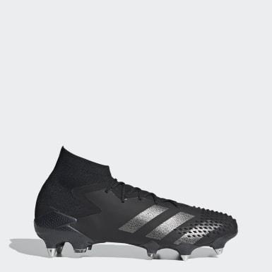 Bota de fútbol Predator Mutator 20.1 césped natural húmedo Negro Fútbol