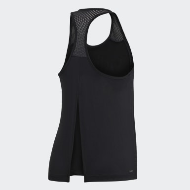 Musculosa Design 2 Move Logo Negro Mujer Training