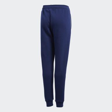 Pantalon de survêtement Core 18 Bleu Enfants Training