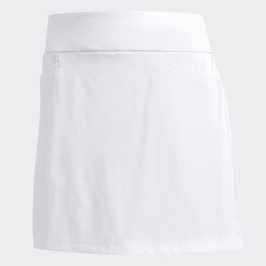 Ženy Golf bílá Šortková sukně Ultimate Sport