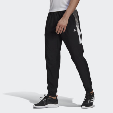 Men Training Black Designed 2 Move Activated Tech AEROREADY Pants