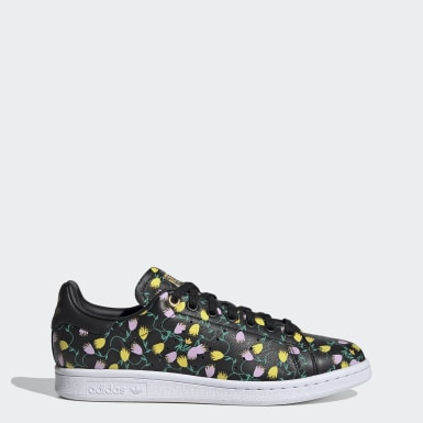 Tenis Stan Smith Negro Mujer Originals