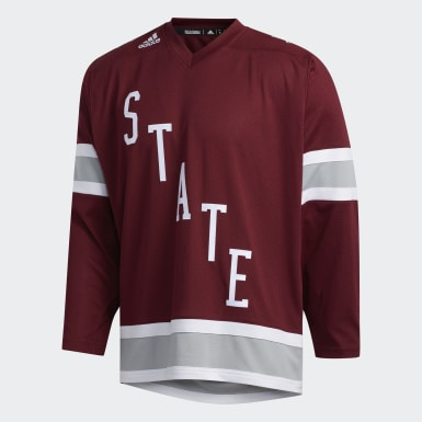 Men's Training Multicolor Bulldogs Hockey Jersey
