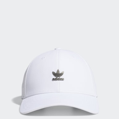 Men's Originals White Structured Metal Hat
