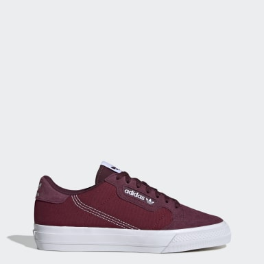Women Originals Burgundy Continental Vulc Shoes