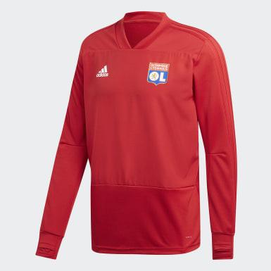 Camisola de Treino do Olympique Lyonnais Vermelho Homem Futebol