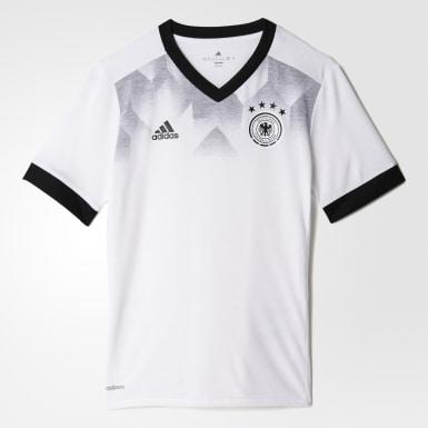 белый Предматчевая футболка сборной Германии Home