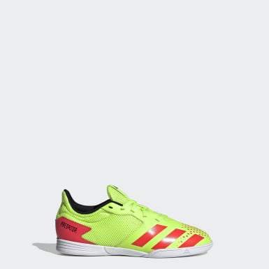 Children Futsal Green Predator 20.4 Indoor Sala Shoes