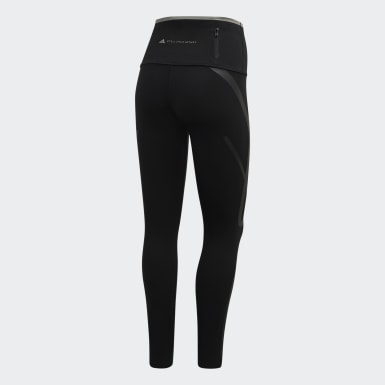 Kvinder adidas by Stella McCartney Sort TRUEPACE Long tights