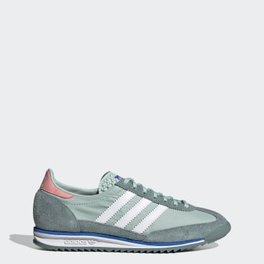 Dames Originals Turquoise SL 72 Schoenen
