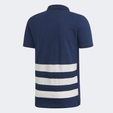 Männer Handball French Handball Federation Poloshirt Blau
