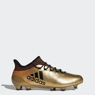 scarpe da calcio dorate adidas