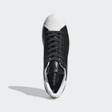 ผู้ชาย Originals สีขาว รองเท้า Superstar Pure