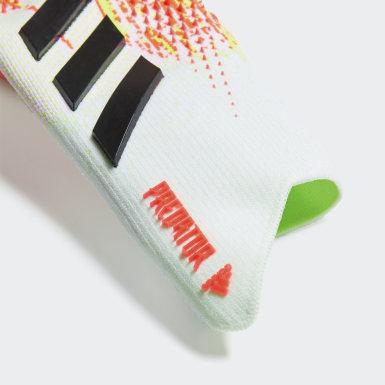 Fodbold Hvid Predator 20 Pro målmandshandsker