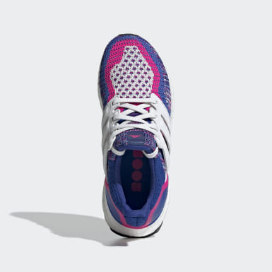 Youth Running Blue Ultraboost Multi-Color Shoes