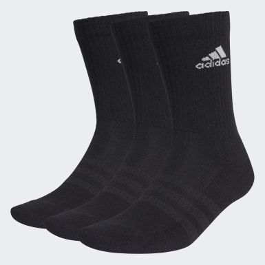 Training Cushioned Crew Socken, 3 Paar Schwarz