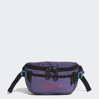 Premium Essentials Waist Bag Large Fioletowy